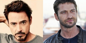 Robert John Downey Jr. and Gerard Butler