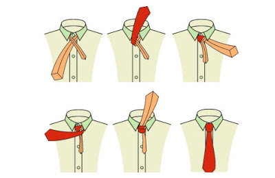 How to tie a tie here are the most popular techniques with photo this is an easy long and straight knot for shirts with standard collars ccuart Image collections