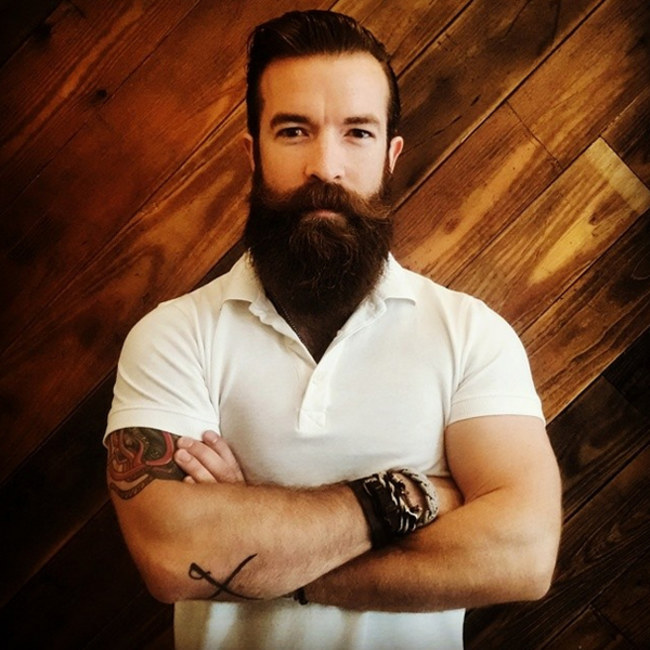 So you\'ve got a beard and the color is nor right
